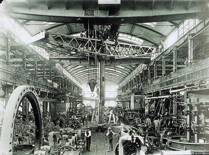 005a-AEG Turbinenhalle um 1900