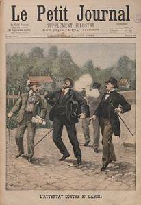 289-Attentat auf Labori-Le Petit Journal