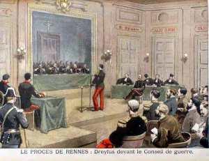 290-Der Dreyfus-Prozess in Rennes