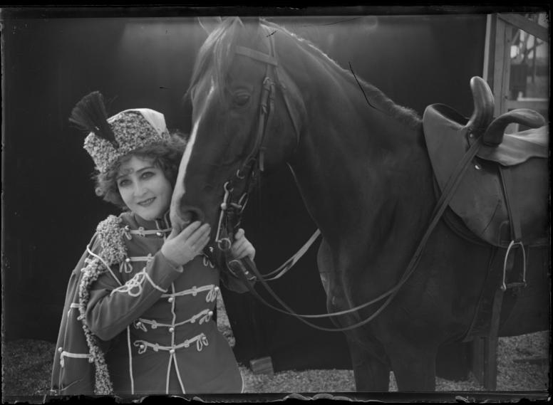 Dödsritten under cirkuskupolen (1912) Filmografinr: 1912/22