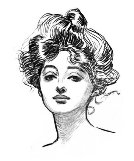 646-Gibson Girl